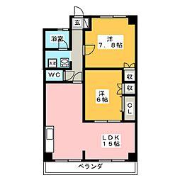東新ビル[2階]の間取り