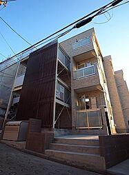 神奈川県横浜市港北区綱島台の賃貸アパートの外観