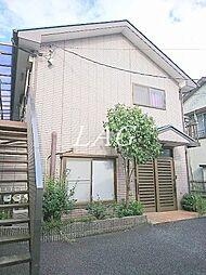 東京都板橋区蓮沼町の賃貸アパートの外観