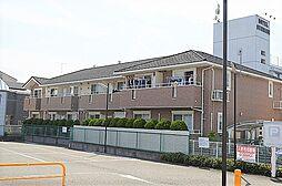 東京都昭島市朝日町1丁目の賃貸アパートの外観