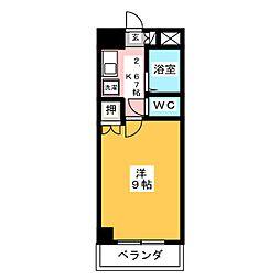 クインシティHISHINO[5階]の間取り