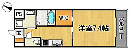 Aletta合川町[5階]の間取り