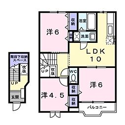 北野駅 4.4万円