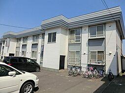 北海道札幌市東区北五十一条東5丁目の賃貸アパートの外観