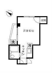 CLAIRE YAKUMO[301号室]の間取り
