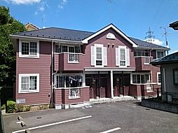 東京都多摩市乞田の賃貸アパートの外観