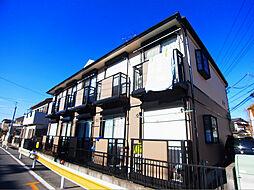 千葉県柏市中新宿2の賃貸アパートの外観