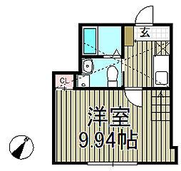 ベイルーム腰越[2階]の間取り