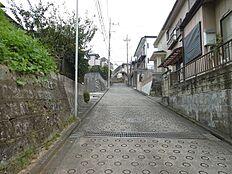 北側前面道路(約3.95m)