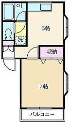 ツインズハウス[101号室]の間取り