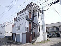 東札幌1-4アパート[1F号室]の外観
