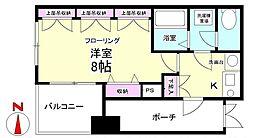 エステムプラザ大阪セントラルシティ[2階]の間取り