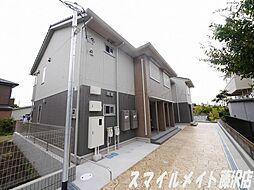 神奈川県藤沢市大鋸の賃貸アパートの外観