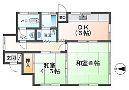 [一戸建] 静岡県三島市泉町 の賃貸【静岡県 / 三島市】の間取り