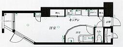 仙台リエゾン[B708号室]の間取り