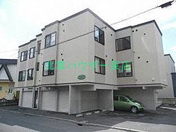 北海道札幌市東区伏古十条1丁目の賃貸アパートの外観