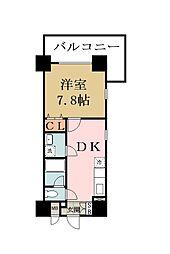 バウハウス[303号室]の間取り
