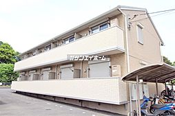 埼玉県所沢市大字牛沼の賃貸アパートの外観