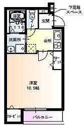 フジパレス堺鳳東6番館[103号室]の間取り