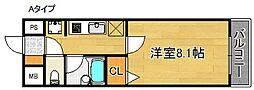 エリカIII[2階]の間取り