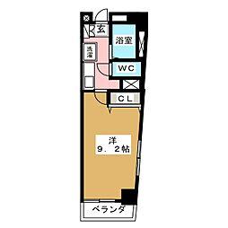 COMFYフルカワ[4階]の間取り