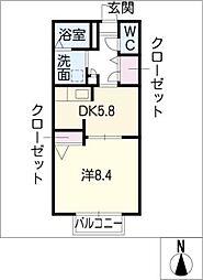 艸木舎 B棟[1階]の間取り