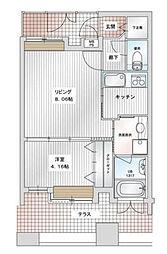 アイビースクエアマンション[15階]の間取り