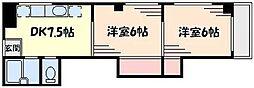 並木ビル[3階]の間取り