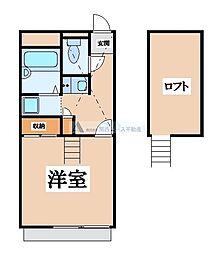 大阪府東大阪市日下町5の賃貸マンションの間取り