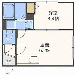 ロビンハウス[3階]の間取り