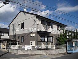 岡山県倉敷市中畝5の賃貸アパートの外観
