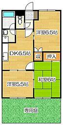 エイトハウス A棟[102号室]の間取り