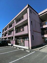 埼玉県草加市稲荷4丁目の賃貸マンションの外観