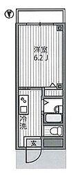 スカイフジ bt[203kk号室]の間取り
