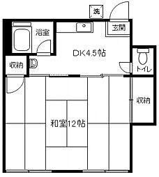 丸永ハイツPIII[105号室]の間取り