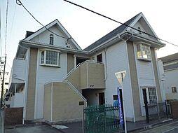 愛知県名古屋市中川区外新町2丁目の賃貸アパートの外観