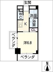星ヶ丘リビング[7階]の間取り