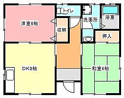 [一戸建] 静岡県浜松市東区小池町 の賃貸【/】の間取り