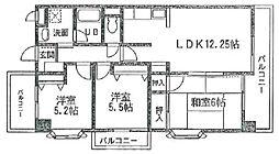 フォーラム立石[2階]の間取り