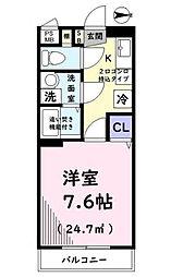 東京都板橋区小茂根1丁目の賃貸マンションの間取り