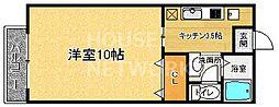 ポエム1番館[105号室号室]の間取り