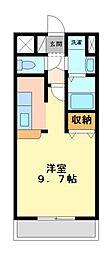 神奈川県川崎市宮前区土橋1丁目の賃貸マンションの間取り