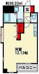 サンシャインⅢ[602号室]の間取り