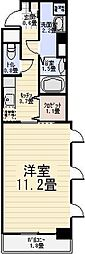 シトラスフィールド六町[2階]の間取り