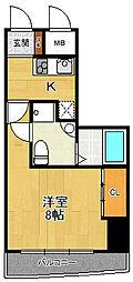 セレニテ甲子園1[7階]の間取り