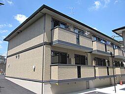 京都府京都市伏見区桃山町日向の賃貸アパートの外観