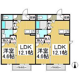 仮)佐久シャーメゾン[1階]の間取り