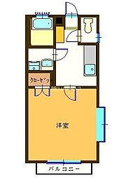 埼玉県上尾市上尾下の賃貸アパートの間取り