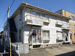 千葉県八千代市八千代台東1丁目の賃貸アパートの外観