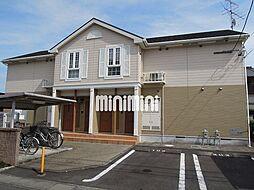 静岡県静岡市清水区山原の賃貸アパートの外観